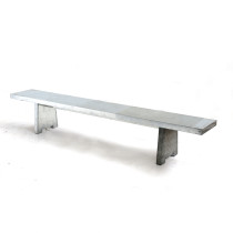 zinken-bank - zinc bench
