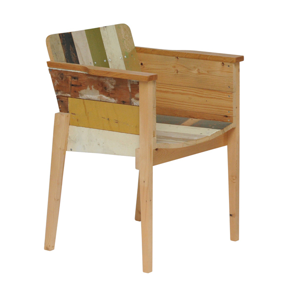 scrap wood chair oak