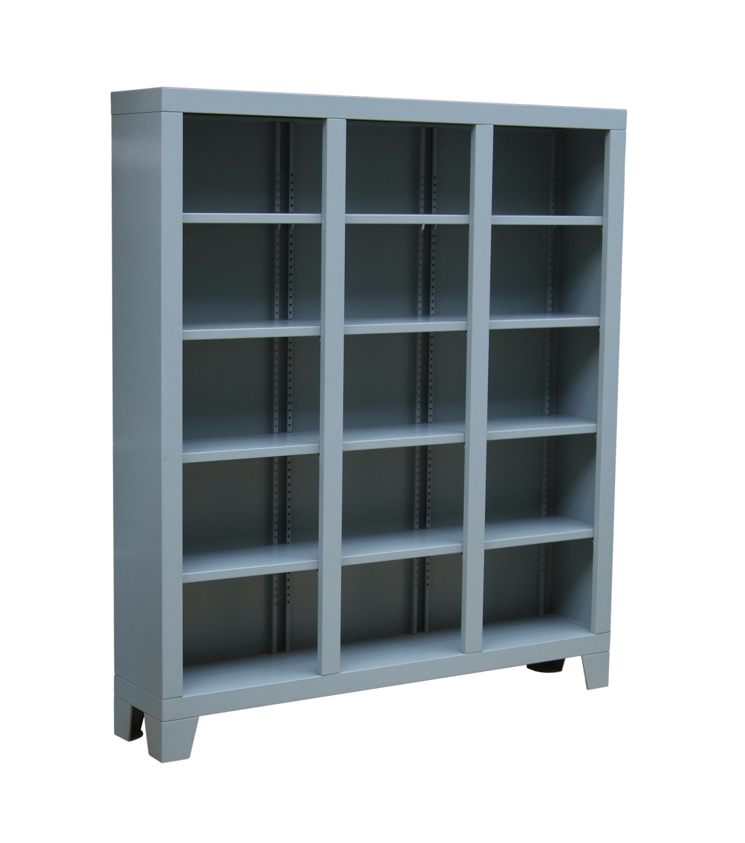 1211 Dozen boekenkast STAAL blauw | PIET HEIN EEK