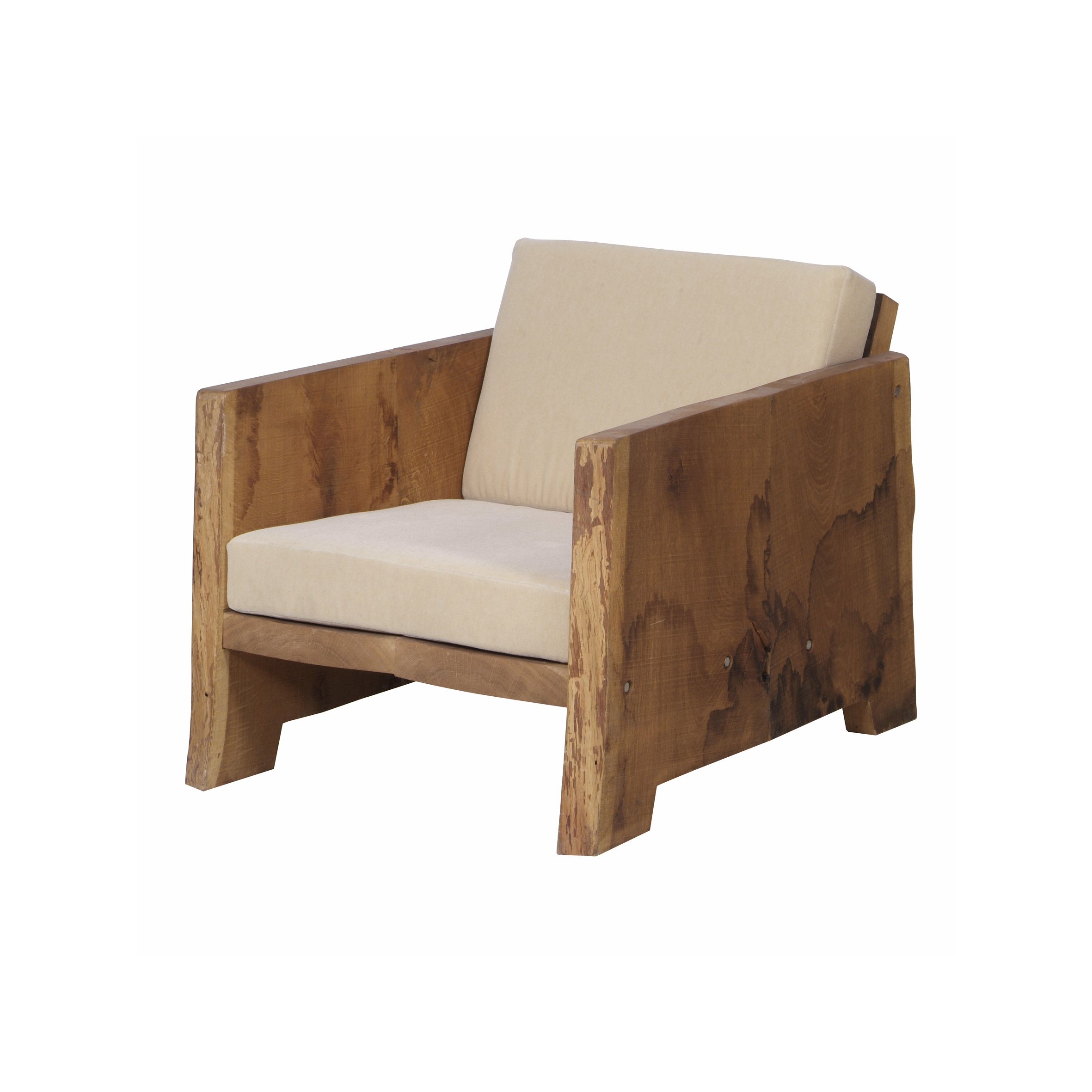 2322 Tree-trunk armchair-klein