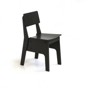 crisisstoel-zwart