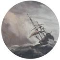 een-schip-in-volle-zee-bij-vliegende-storm-de-windstoot-willem-van-de-velde-iit