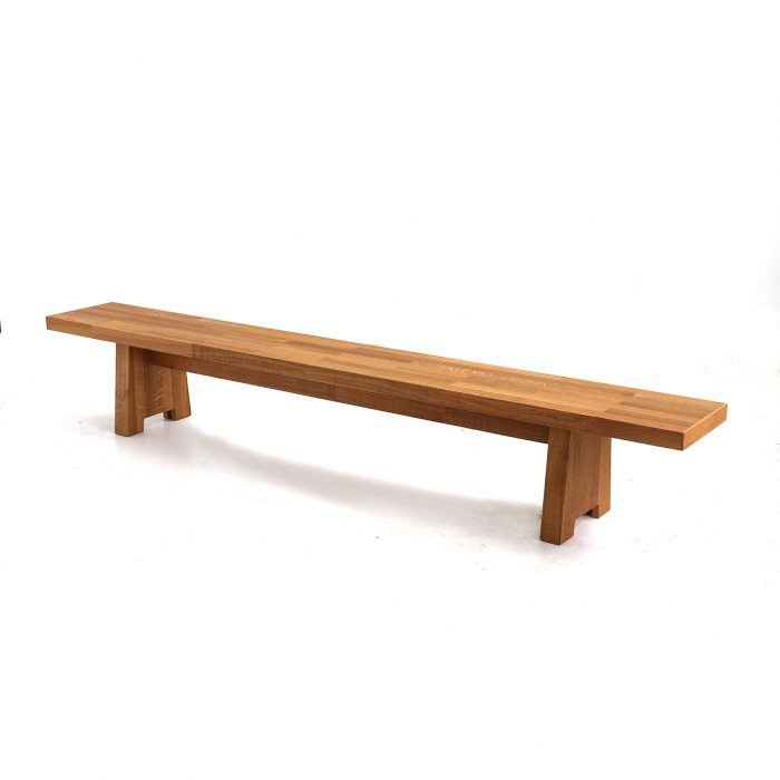 kantinebank-in-eiken- Canteen bench in oak
