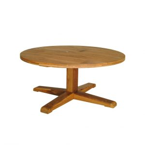 Office table in oak round