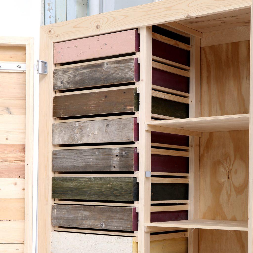 Classic - cupboard - scrapwood