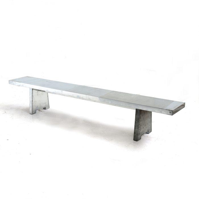 zinken-bank - zinc bench
