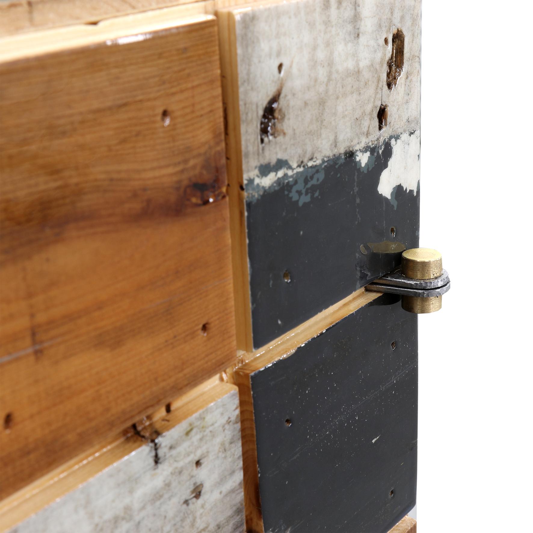 Tegelkubus kast in sloophout
