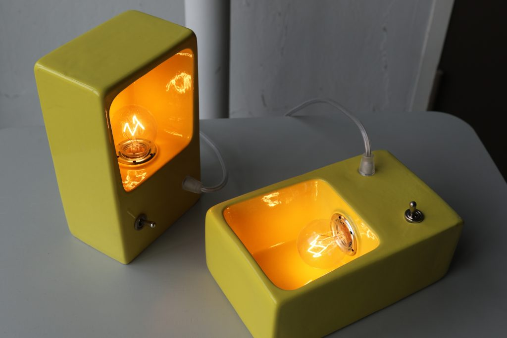 One Mold Ceramic Lamp Piet Hein Eek