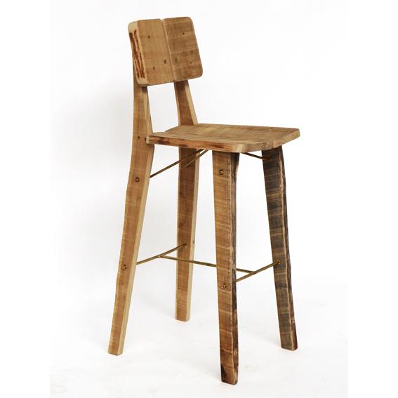 New tree trunk chair oak side