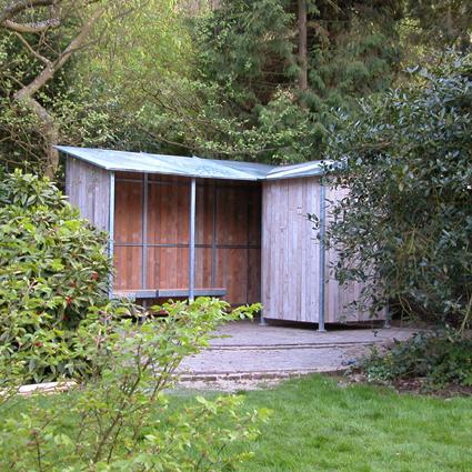tuinhuis privé