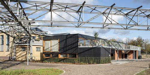 NLD, Niederlande, Eindhoven, Strijp R, Green Houses, Architektur von Eek en Dekkers (Piet Hein Eek Architecture) | NLD, The Netherlands, Eindhoven, Strijp R, green houses, architecture by Eek en Dekkers (Piet Hein Eek Architecture)