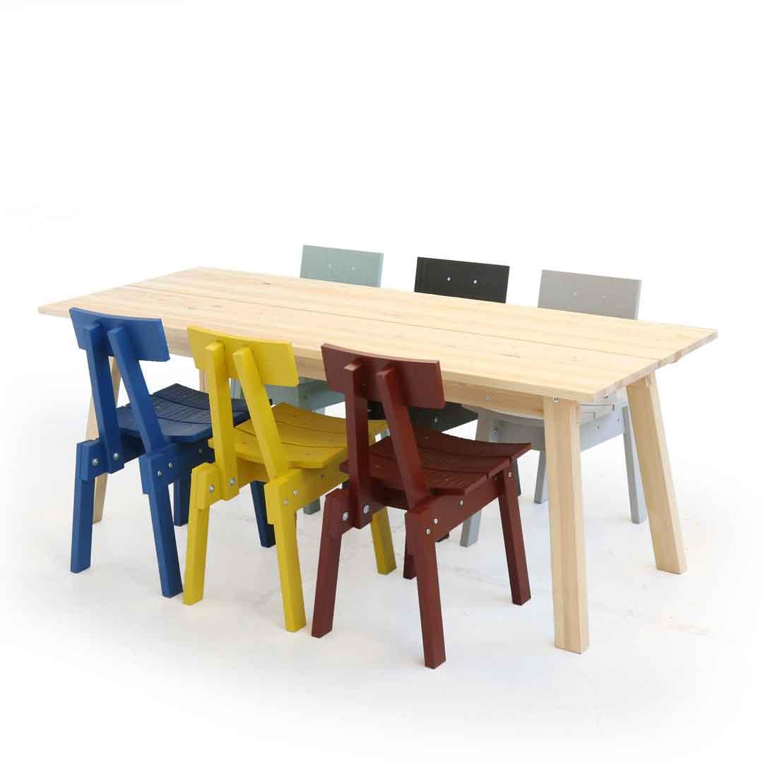 Eettafel En Stoelen Ikea.Ikea Piet Hein Eek