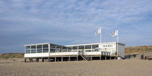 NLD, Niederlande, Bergen aan Zee, Strand Pavillon Noord, Architektur von Eek en Dekkers (Piet Hein Eek Architecture) | NLD, The Netherlands, Bergen aan Zee, beach pavilion Noord, architecture by Eek en Dekkers (Piet Hein Eek Architecture)