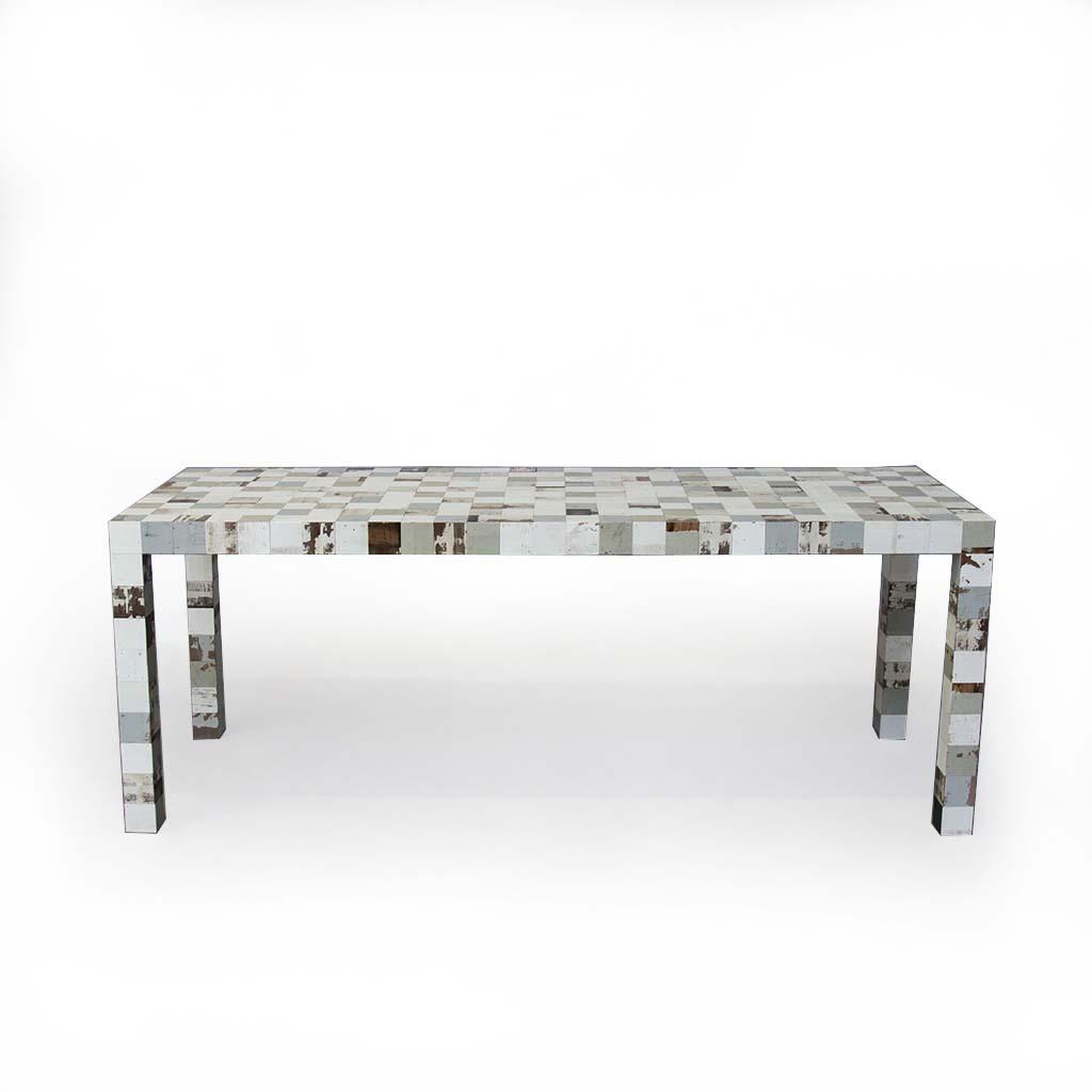78 x 78 waste waste table – voor – vrijstaand