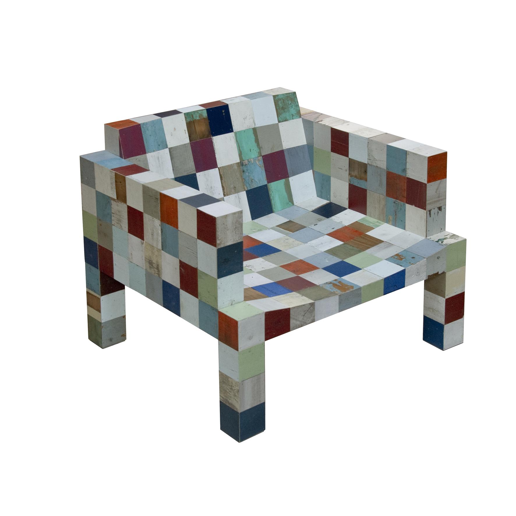 Afval afval 80×80 fauteuil nr. 2
