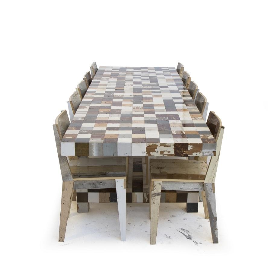 Tom Dixon- Pan tafel 12 met stoelen_klein