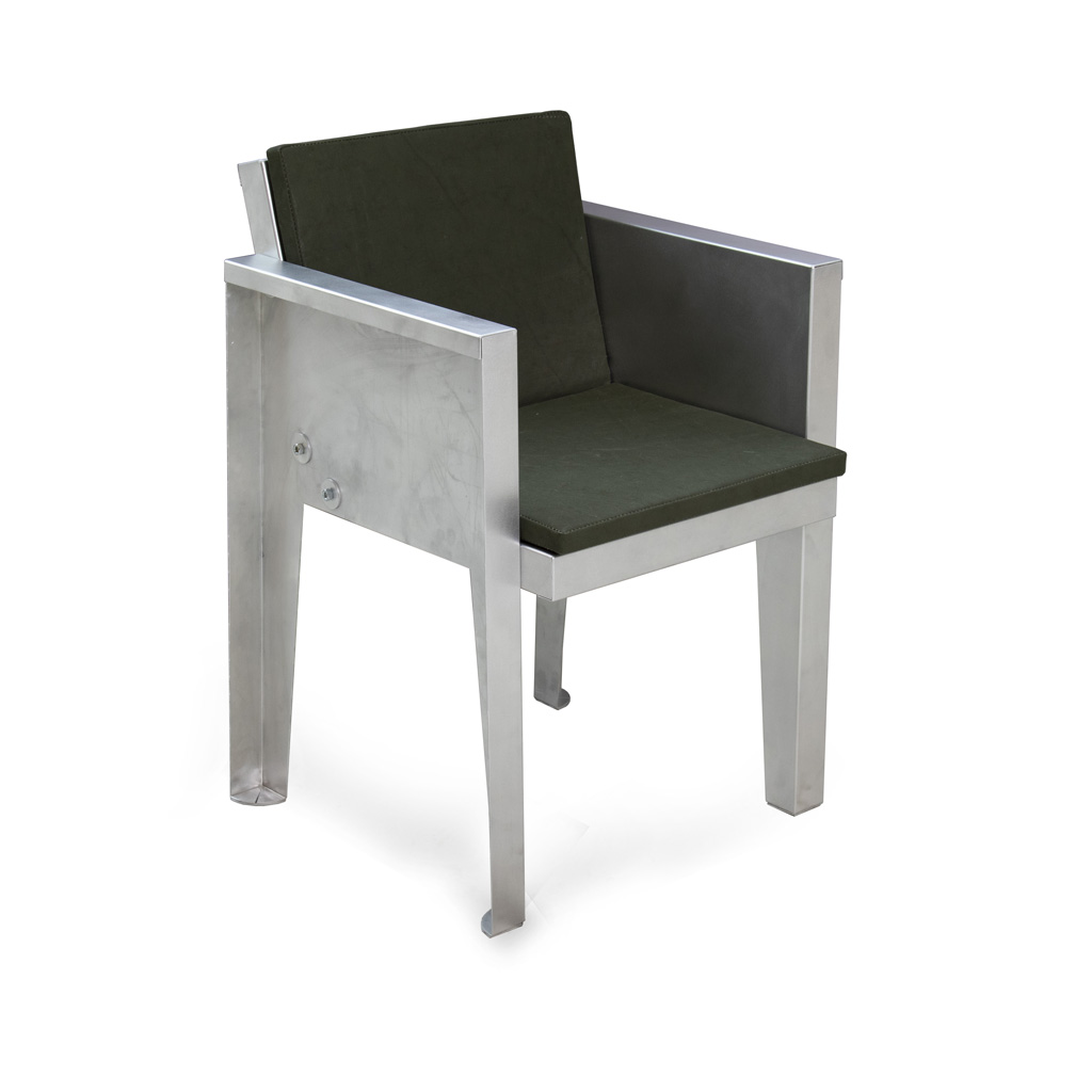 Super Aluminum Dining Chair Piet Hein Eek Squirreltailoven Fun Painted Chair Ideas Images Squirreltailovenorg