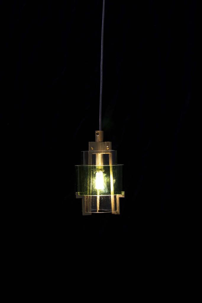 cut botlle lamp – 01