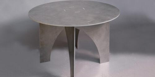 Alu tafel rond 120cm - 02