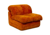 Lounge Chairs in Bright Orange - 02