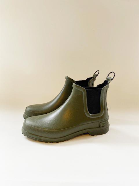 Novesta Chelsea boot green, maat 37 tm 45, €89,-